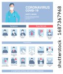coronavirus 2019 ncov... | Shutterstock .eps vector #1687367968