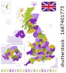 Detailed Map Of United Kingdom...