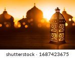 Arabic Lantern  Ramadan Kareem...