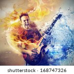 colorful music | Shutterstock . vector #168747326