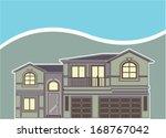 luxury vocational property | Shutterstock .eps vector #168767042