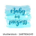 baby in progress   ...   Shutterstock .eps vector #1687836145