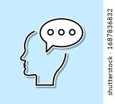 chat  comment  brain sticker...