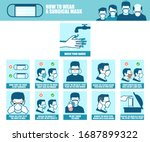 vector banner of a step by step ... | Shutterstock .eps vector #1687899322