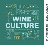 wine culture word concepts...