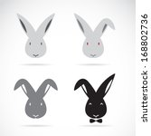 Vector Image Of An Rabbit On...