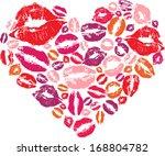 Heart Shape Made With Print...
