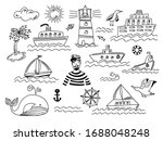 collection of isolated black... | Shutterstock .eps vector #1688048248