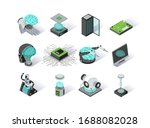 artificial intelligence... | Shutterstock .eps vector #1688082028