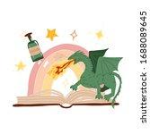 magical  fantastic  fairy tale... | Shutterstock .eps vector #1688089645