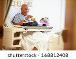 Senior Male Patient Enjoying...