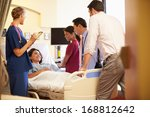 medical team meeting around... | Shutterstock . vector #168812642