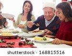 multi generation family... | Shutterstock . vector #168815516