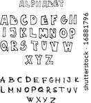alphabet | Shutterstock .eps vector #16881796