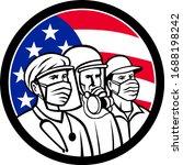 mascot icon illustration of... | Shutterstock .eps vector #1688198242