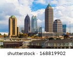 Skyline Of Midtown Atlanta ...
