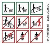 shopping carts icon pictogram... | Shutterstock .eps vector #1688202502