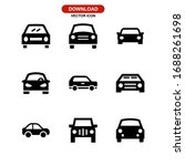 car icon or logo isolated sign... | Shutterstock .eps vector #1688261698