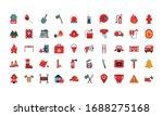 flat style icon set design ... | Shutterstock .eps vector #1688275168