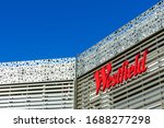 Westfield Sign On The Facade Of ...