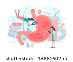 diagnosis and treatment of... | Shutterstock .eps vector #1688290255