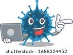 an icon of smart moordecovirus... | Shutterstock .eps vector #1688324452