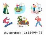 set of variety talents  skills  ... | Shutterstock .eps vector #1688499475