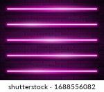 futuristic sci fi modern neon... | Shutterstock .eps vector #1688556082