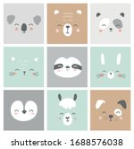 Cute Simple Animal Faces...