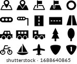 transportation icon set  car ...   Shutterstock .eps vector #1688640865