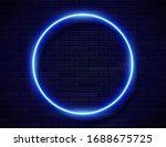 futuristic sci fi modern neon... | Shutterstock .eps vector #1688675725