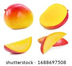 Fresh Organic Mango Isolated O...