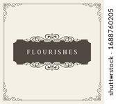 vintage certificate. ornamental ...   Shutterstock .eps vector #1688760205