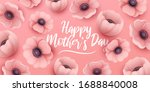 happy mothers day background... | Shutterstock .eps vector #1688840008