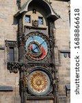 Vintage Scene Of Prague...