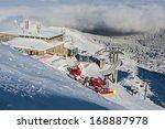 winter scenery   kasprowy... | Shutterstock . vector #168887978