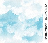 seamless sky pattern  blue...   Shutterstock .eps vector #1688921665