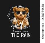 Through The Rain Slogan With...