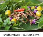 Thai Salad   Isolated  Squid...