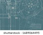 engineering. mechanical... | Shutterstock .eps vector #1689064495