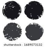 set of grunge stamps.vector... | Shutterstock .eps vector #1689073132