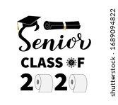 senior class of 2020 lettering...   Shutterstock .eps vector #1689094822