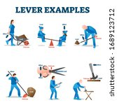 Lever Examples Vector...