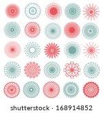 set of elements for design on... | Shutterstock . vector #168914852