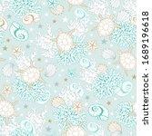 Ocean Seashells Pattern...