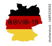 coronavirus in germany. the... | Shutterstock .eps vector #1689233032