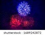 Beautiful Firework At Night....