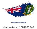 flag of british virgin islands... | Shutterstock .eps vector #1689329548