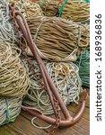vertical image of an anchor...   Shutterstock . vector #168936836