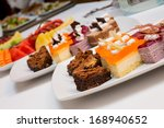 assortment of sweets thailand | Shutterstock . vector #168940652